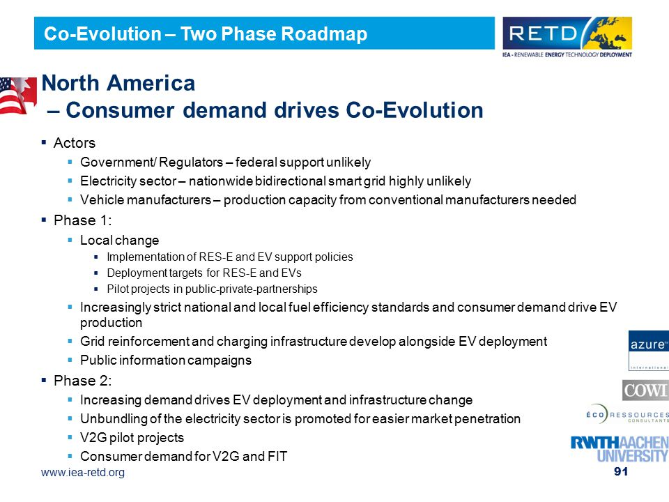 North America – Consumer demand drives Co-Evolution