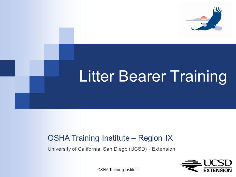 Litter Bearer Training