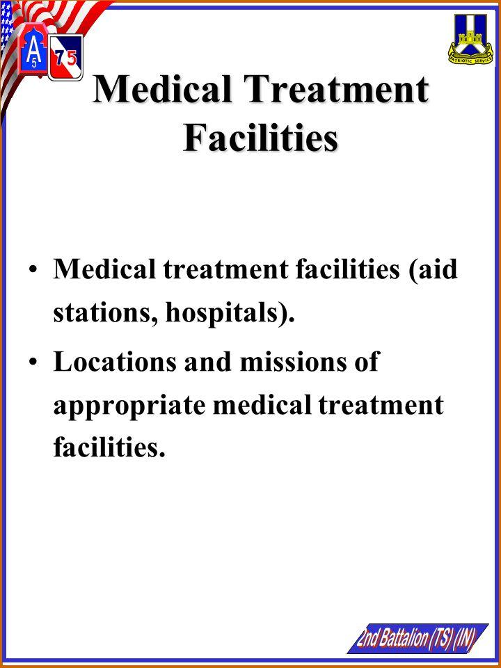 Medical Treatment Facilities