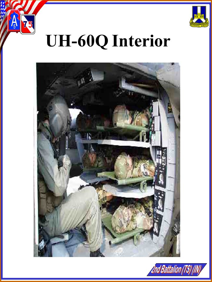 UH-60Q Interior