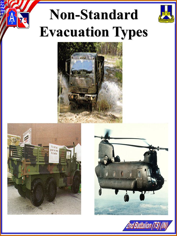 Non-Standard Evacuation Types