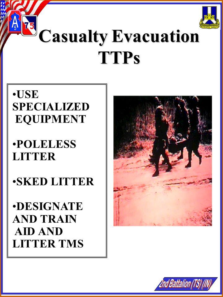 Casualty Evacuation TTPs