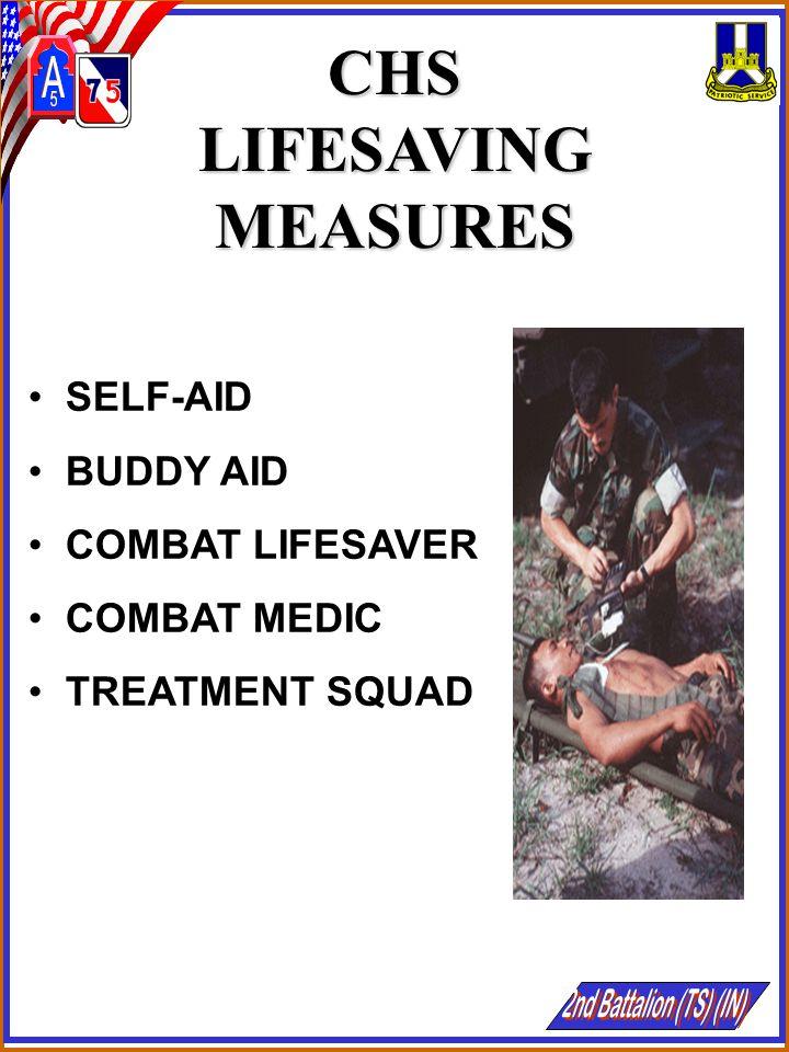 CHS LIFESAVING MEASURES