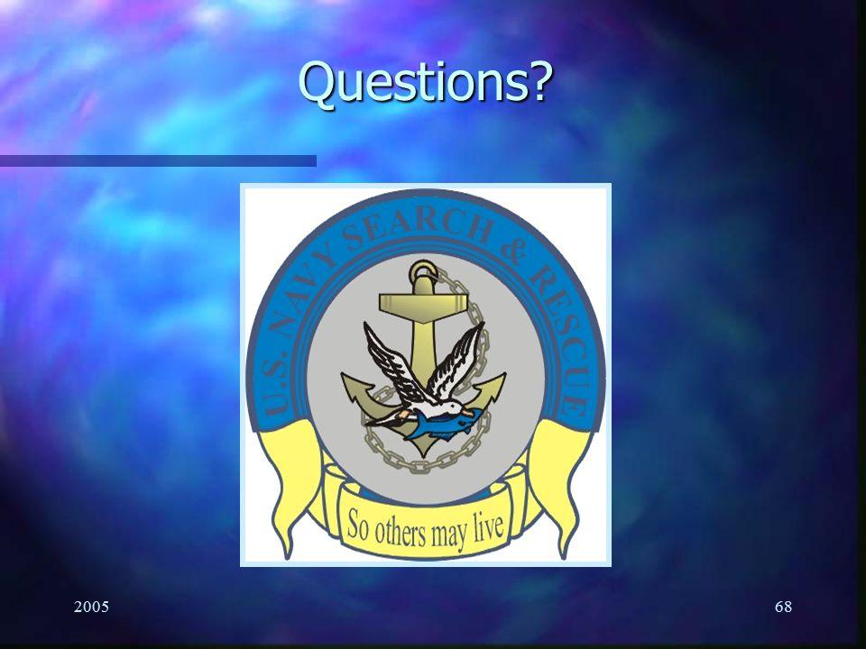 Questions 2005
