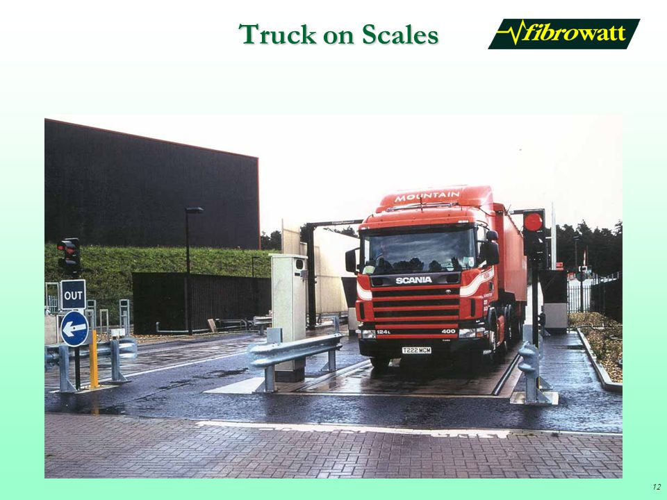 Truck on Scales