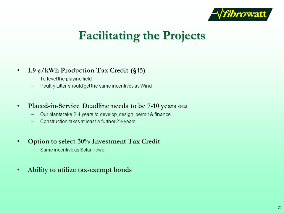 Facilitating the Projects