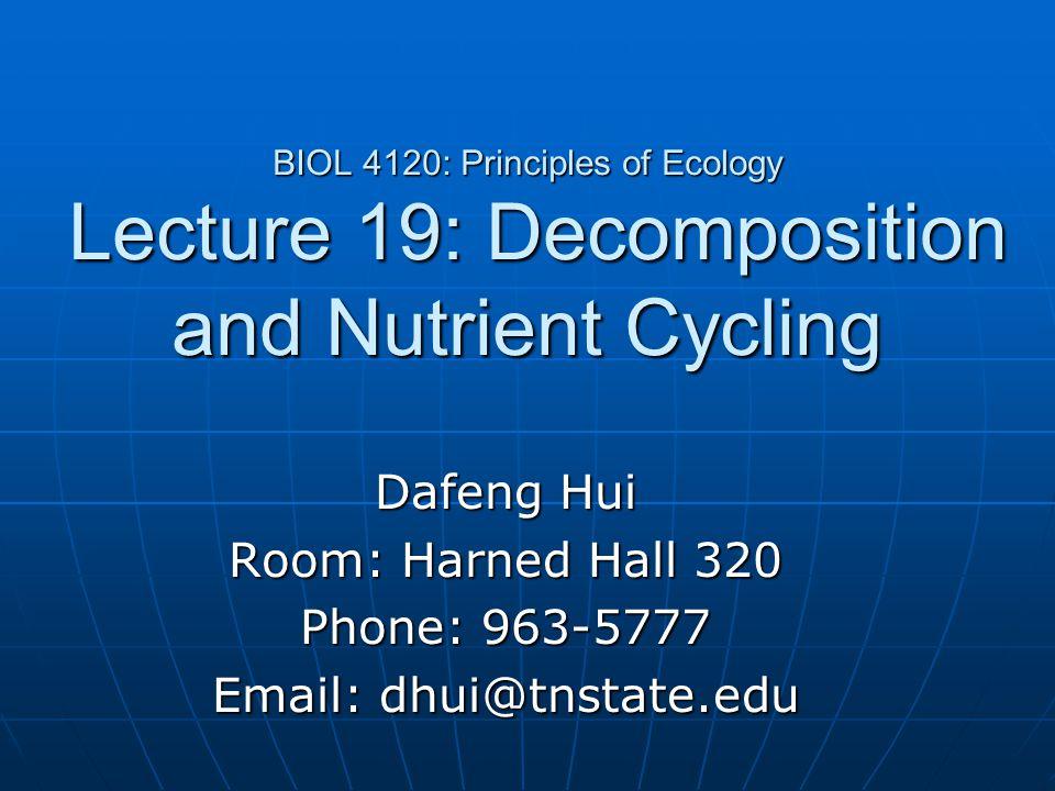 Dafeng Hui Room: Harned Hall 320 Phone: 963-5777