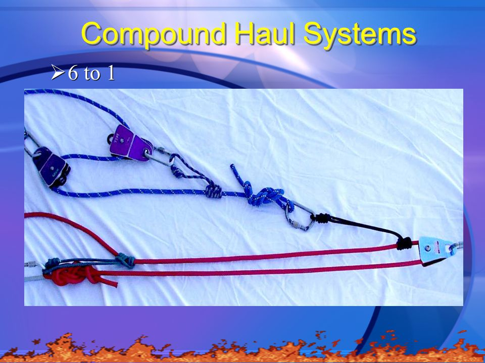 Compound Haul Systems 6 to 1