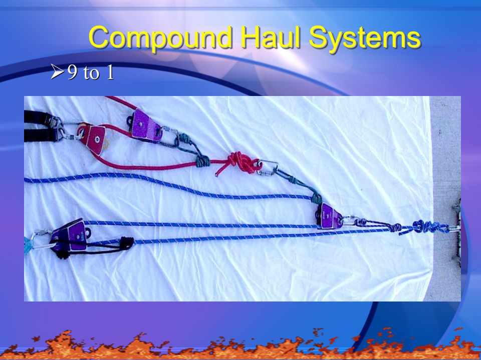 Compound Haul Systems 9 to 1