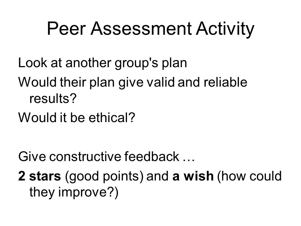 Peer Assessment Activity