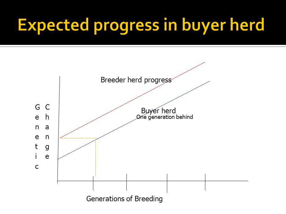 Expected progress in buyer herd