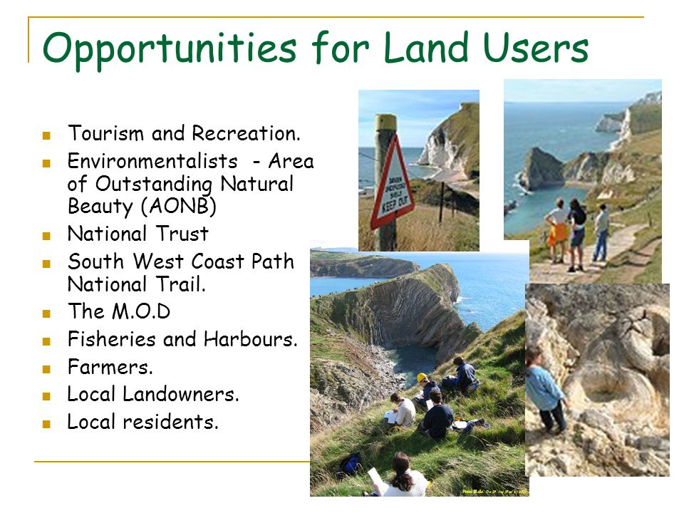 Opportunities for Land Users