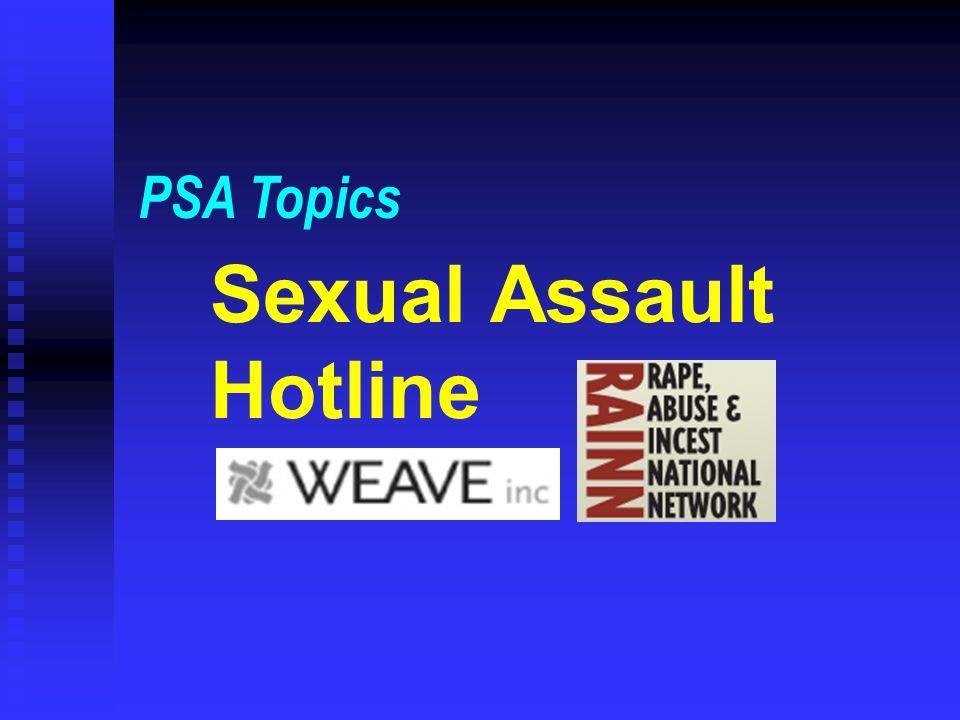 Sexual Assault Hotline