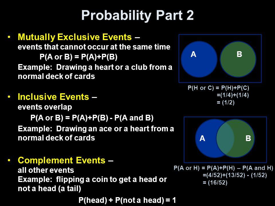 Probability Part 2