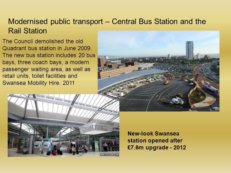 Modernised public transport – Central Bus Station and the Rail Station