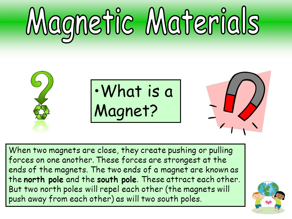What is a Magnet Magnetic Materials