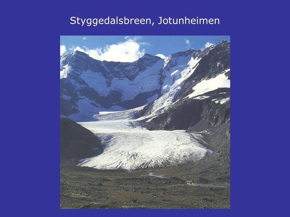 Styggedalsbreen, Jotunheimen