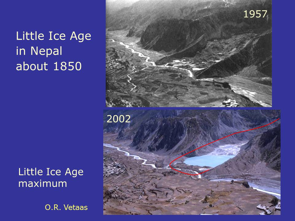 Little Ice Age in Nepal about 1850