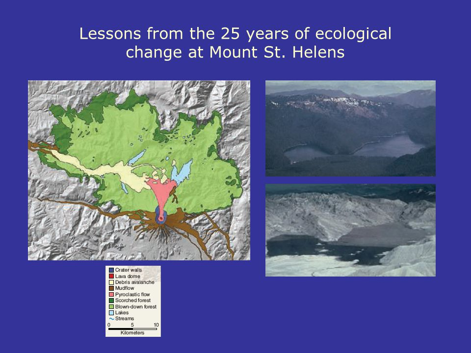 Lessons from the 25 years of ecological change at Mount St. Helens
