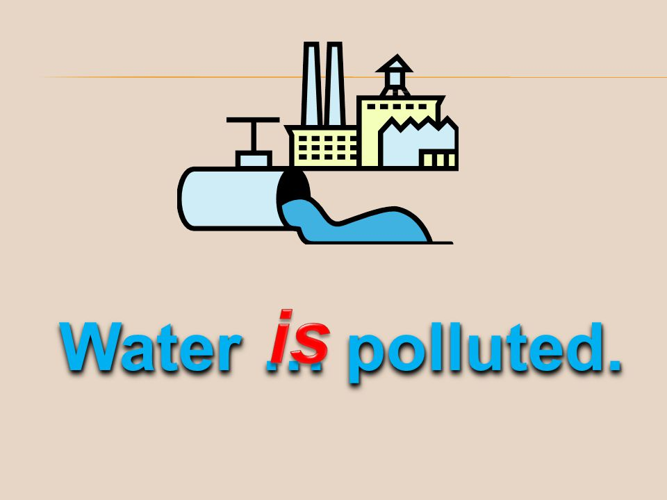 is Water … polluted.