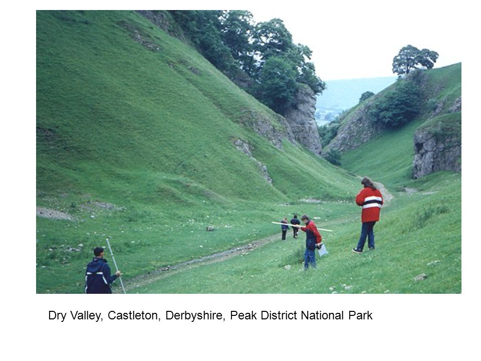 Dry Valley, Castleton, Derbyshire, Peak District National Park