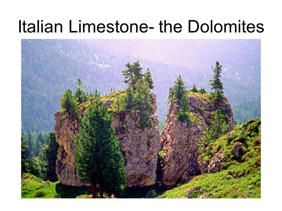 Italian Limestone- the Dolomites