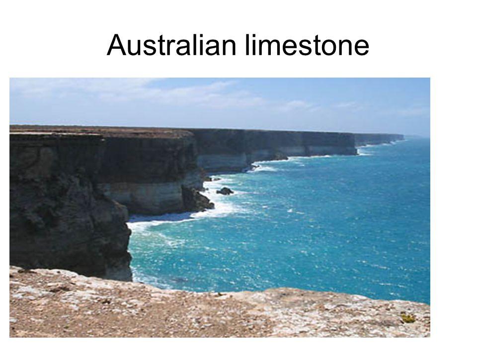 Australian limestone