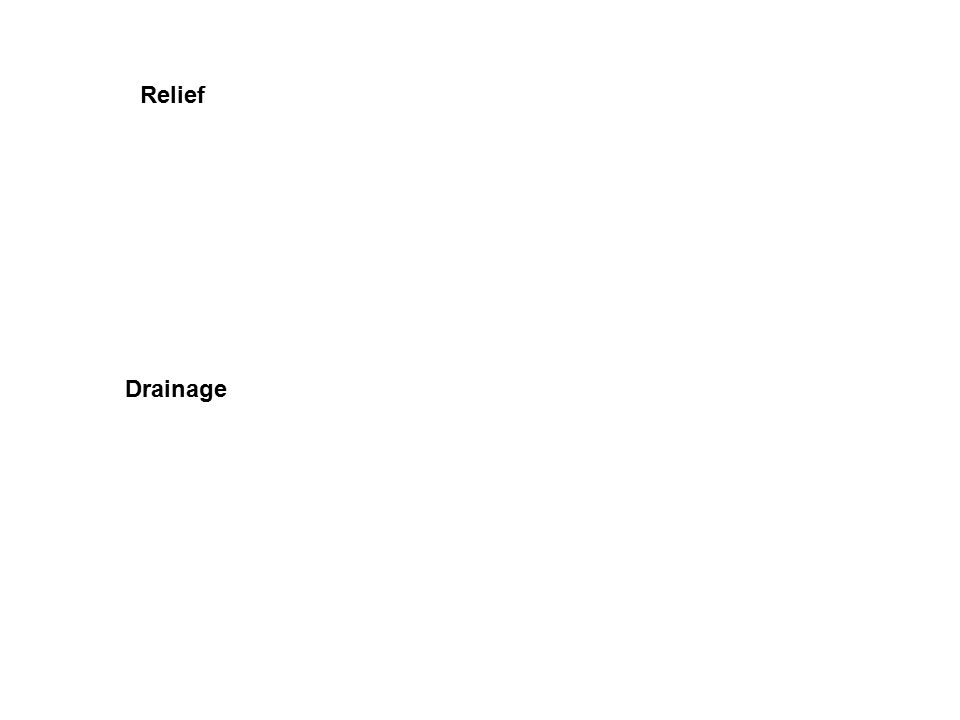Relief Drainage