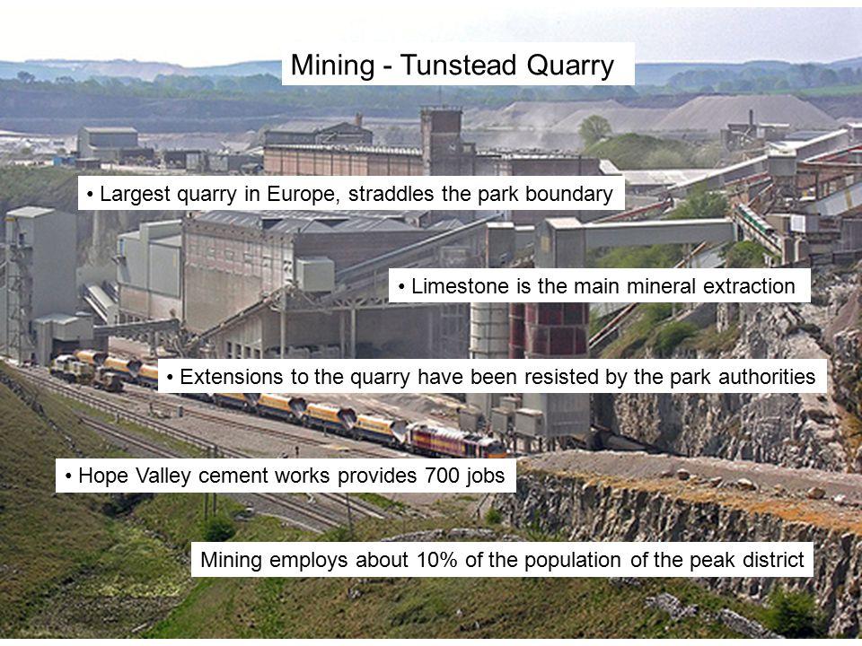 Mining - Tunstead Quarry