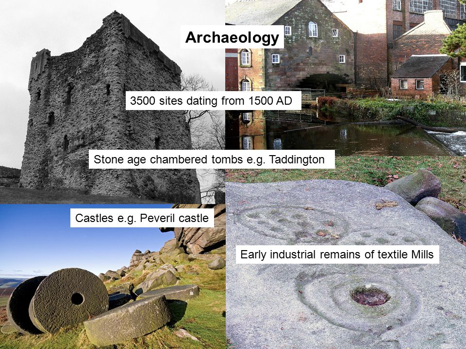 Archaeology 3500 sites dating from 1500 AD