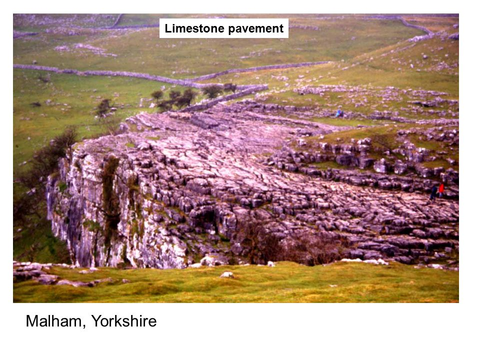 Limestone pavement Malham, Yorkshire
