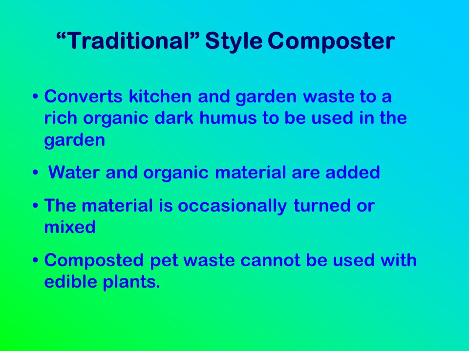 Traditional Style Composter