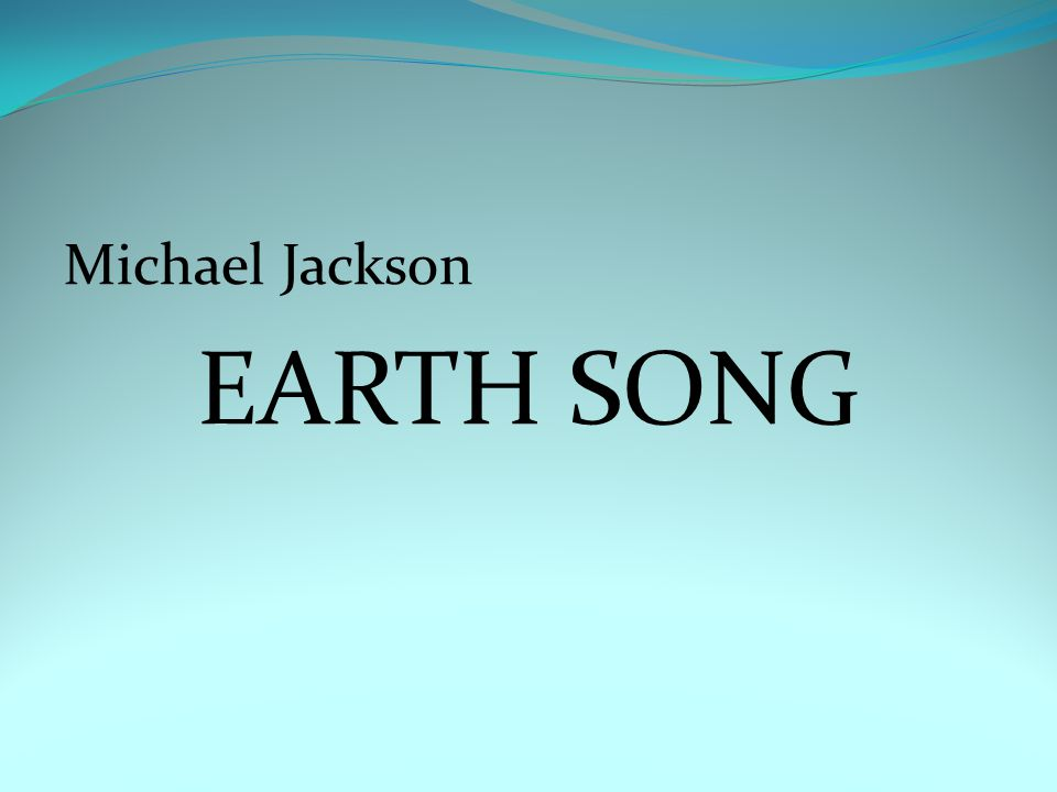 Michael Jackson EARTH SONG