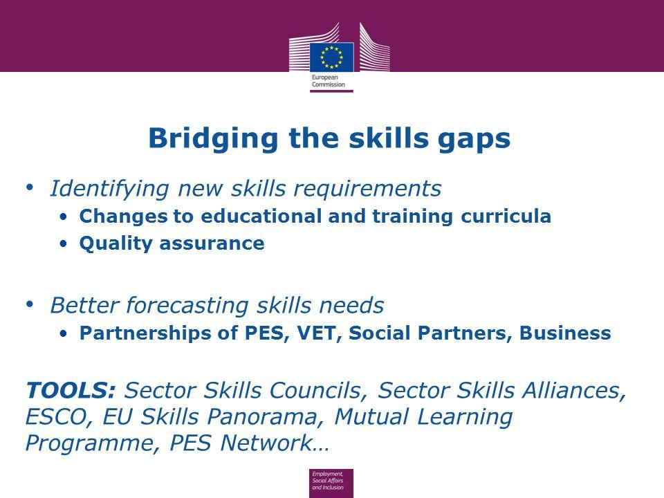 Bridging the skills gaps
