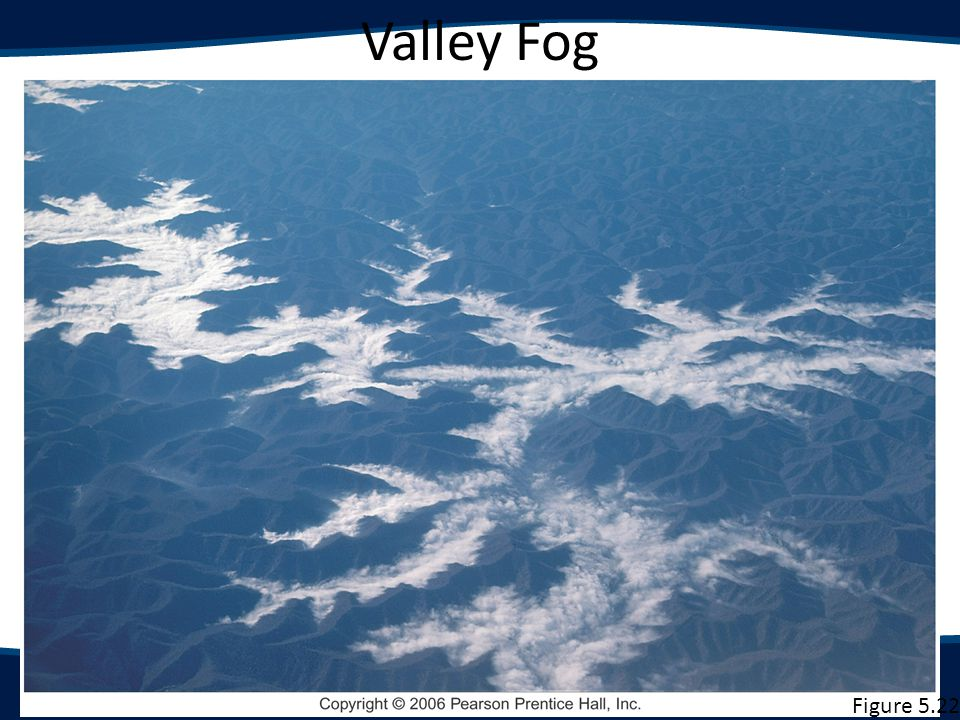 Valley Fog Figure 5.25 Figure 5.22