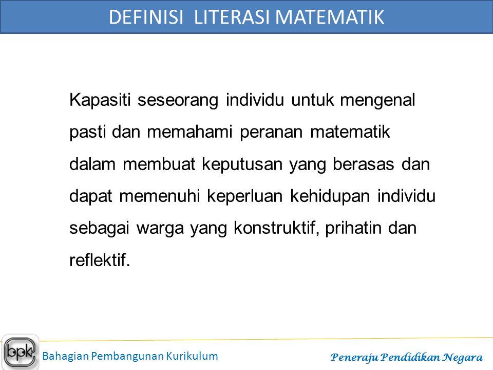 DEFINISI LITERASI MATEMATIK
