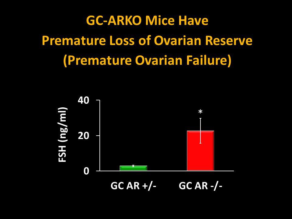 Premature Loss of Ovarian Reserve (Premature Ovarian Failure)