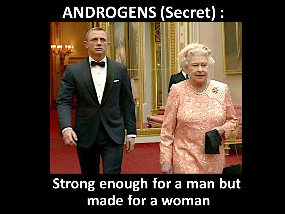 Strong enough for a man but