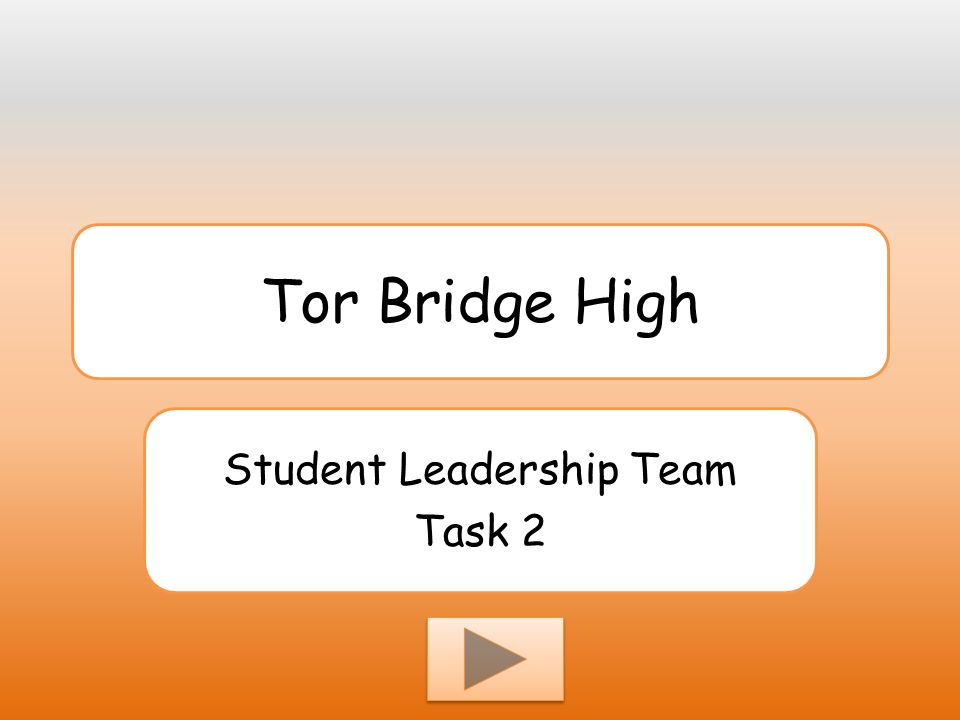 Student Leadership Team Task 2
