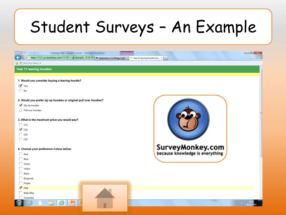 Student Surveys – An Example