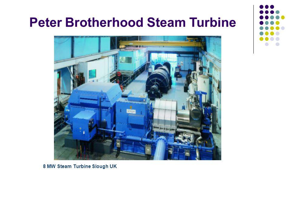 8 MW Steam Turbine Slough UK