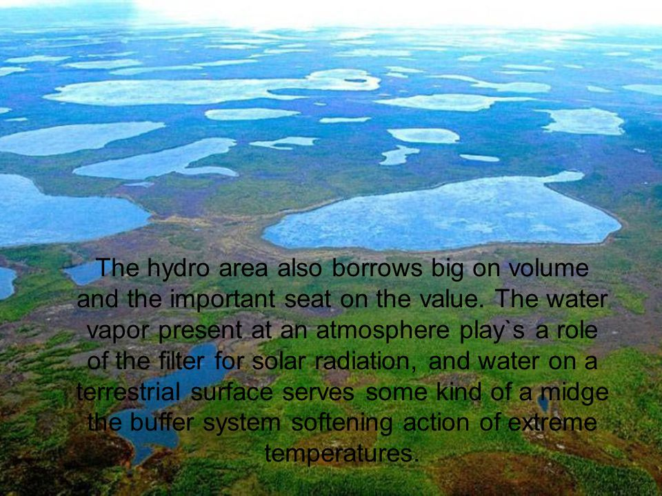 The hydro area also borrows big on volume and the important seat on the value.