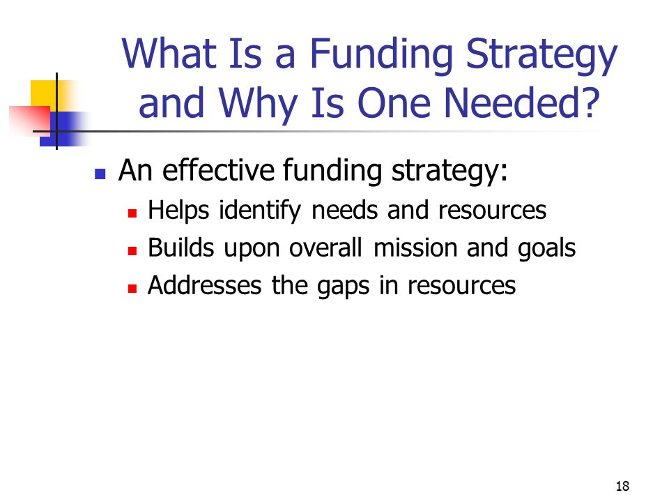 What Is a Funding Strategy and Why Is One Needed