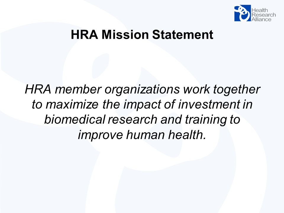 HRA Mission Statement