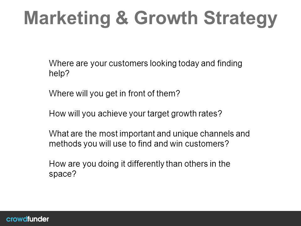 Marketing & Growth Strategy