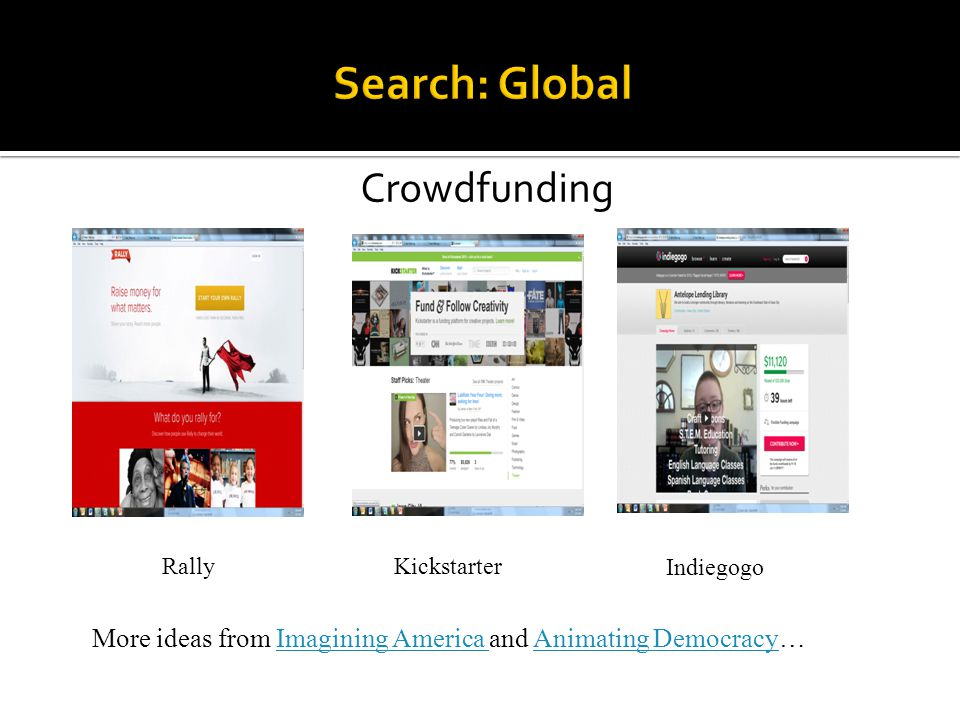 Search: Global Crowdfunding