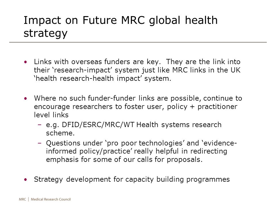 global perspective on health policy Lord ara w darzi, md, mb, chb, facs, director of the institute of global health innovation at the imperial college london, uk, and co-author of this article the shared goal of this group was to examine and debate the key policy challenges facing organized health care systems today and to identify.