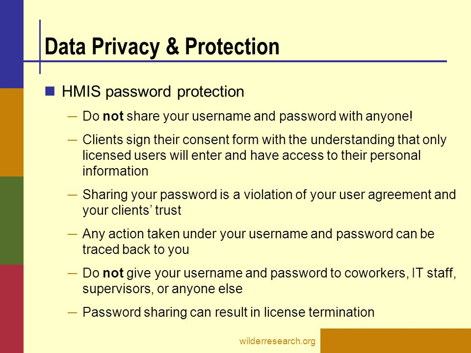 Data Privacy & Protection
