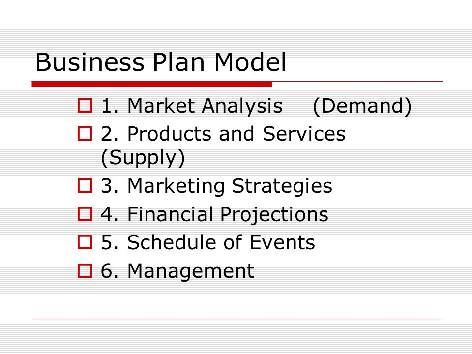 business package examination market
