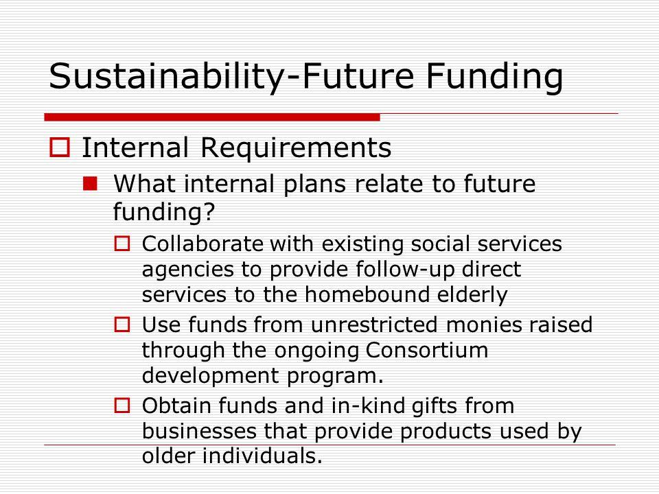 Sustainability-Future Funding